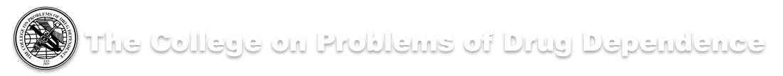 College on Problems of Drug Dependence Logo