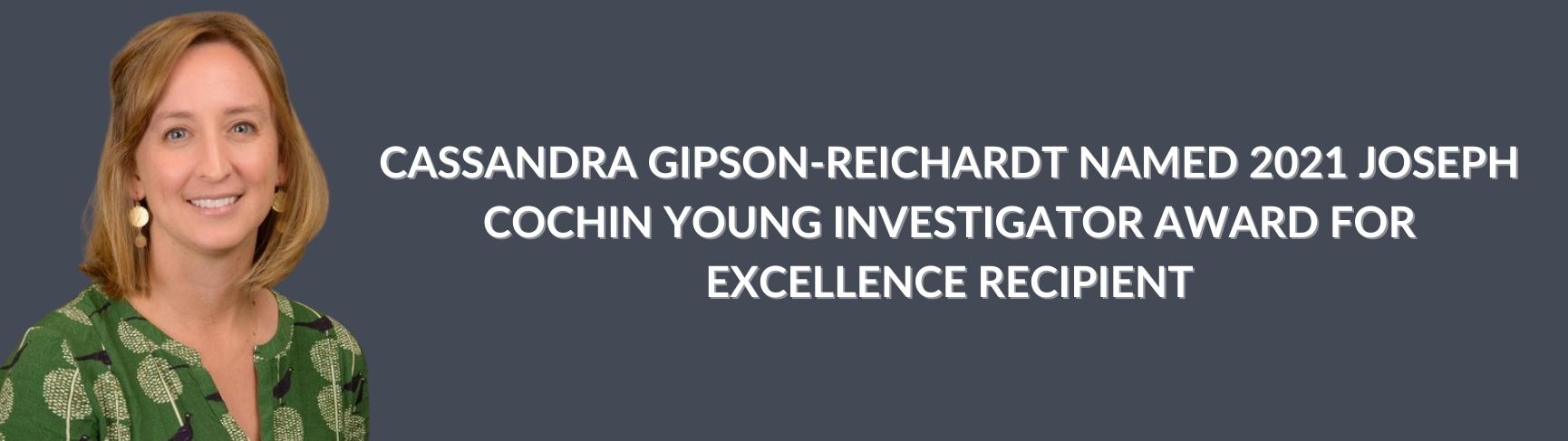 Gipson-Reichardt Cochin Winner - Header Image